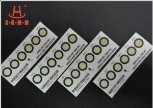 China Cobalt Free Humidity Indicator Strips Six Dots For Calligraphy From Brown To Azure on sale