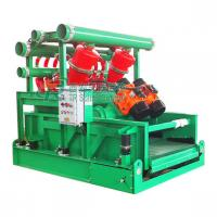 China 600KG Drilling Fluids Treatment Mud Cleaner / Oil and Gas Drilling Mud Shaker on sale