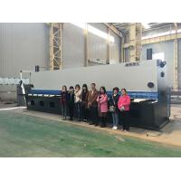 China Multi Edge Blades Guillotine Shear Hydraulic Metal Sheet Cutting Machine 16300Kgs on sale