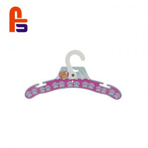 China Woman  Clothes 15*15cm Compact Design With Plastic Handle Custom Cardboard Hangers on sale