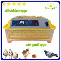Christmas promotion price $39 full automatic mini chicken egg incubator of YZ8-48