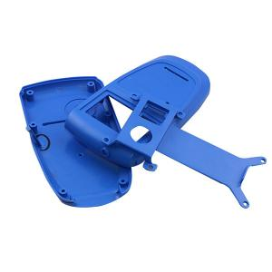 China Blue Color Plastic Household Products And Tooling , Plastic Injection Parts on sale