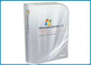 China 100% genuine Microsoft Windows Softwares , Win Server 2008 Standard Retail Pack 5 Clients on sale