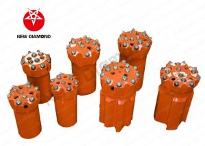 China Mines / Quarries Top Hammer Drill Bits Rock Drilling Tools Alloy Steel Materials on sale