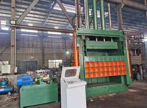 China Professional PET Bottle Baler Machine / Waste Plastic Baling Machine on sale