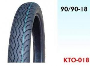 China Motorcycle  Tyre, 90/90-18 on sale