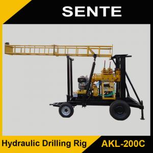 China New type AKL-200C rotary drilling rig on sale