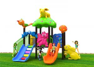 China LLDPEPlasticOutside Slides For Toddlers , Childrens Outdoor Slide Colorful Design on sale