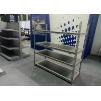 China Adjustable Boltless Rivet Shelving Light Duty Type 200KG / Level Loading Capacity on sale