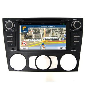 China Bmw 3 Android 6.0 Central Multimidia GPS Kitkat for BMW 3 Series Manual , CE standard on sale