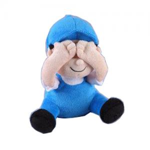 China Electronic Plush Toys Peek a boo Boy Brother plush toys on sale
