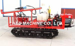China Seismic shot hole drilling rig in crawler type, HD-C40 Mechanical Drive Crawler Drilling Rig on sale