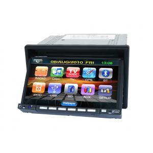 China 2 игрок автомобиля ДВД Блуэтоотх ГПС экрана касания Дин с панелью цифров on sale