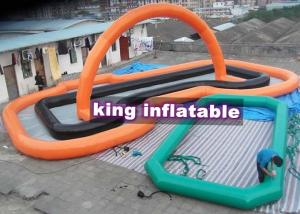 China Customize PVC Inflatable Water Maze For Water Parks , Inflatable Swimming Course on sale
