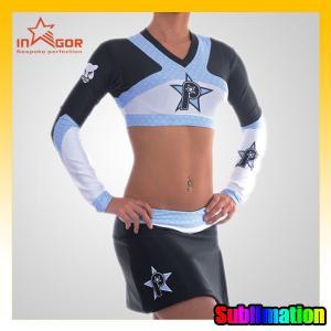 China ODM Girls Dance Cheerleading Wear Moisture Wicking Sports Clothing on sale