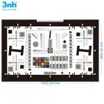 4000 Lines Resolution Test Chart 3nh Customized ISO 12233 With Color Patches 4X
