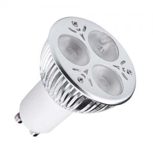 China Home SMD3528 LED Spot Lamps Beam Angle 80lm/w Super Bright Gu10 on sale