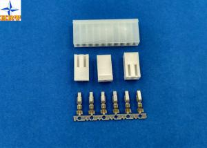 China Brass Terminals 3.96mm Pitch Crimp Connector Pcb Connectors Wire To Board Connector on sale