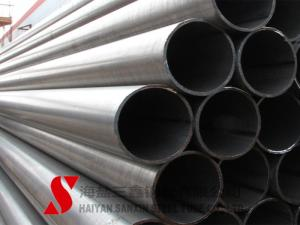 China Galvanized Welded Steel Tube 10.2 - 2540mm Outer Diameter For Fluid on sale