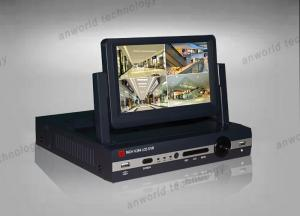 China 7 inch LCD DVR 4CH HDMI 960H H.264 all in one D1 REAL TIME DVR Video Surveillance CCTV DVR Security Recorder on sale