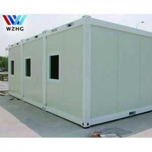 China Luxury prefab tiny 20 40 feet fully furnished used shipping green house modular container home on sale