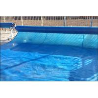 Anti - UV 100um 200um Swimming Pool Solar Cover Blue Color PE Bubble Blanket