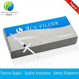 Quality High quality 1ML 2ML Hyaluronic Acid Anti-wrinkle Ha Dermal Filler for sale