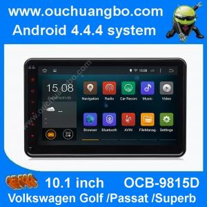 China Ouchuangbo 10.1 inch VW Magotan Passat B6 audio DVD GPS radio Tiguan android 4.4 1024*600 on sale