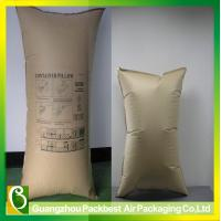 Air/Container air pillow bag, used to restrain movement of cargo loads in trucks
