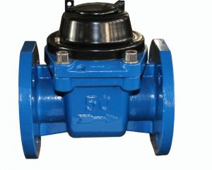 China 2 Inch Multi Jet Removable Element Liquid Sealed Woltman Water Meter for Industrial on sale