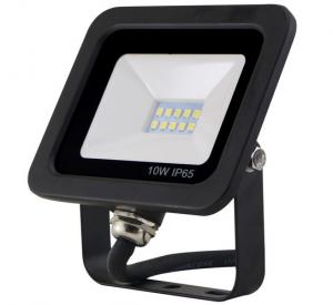 China AC180 - 260V Black Small Outdoor 10w Smd Led Floodlight 800lm 30000h Lifetime IC Driver on sale