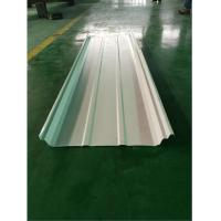 0.6 - 0.8mm Standing Seam Roof Panel Roll Forming Machine fix in 40GP Container