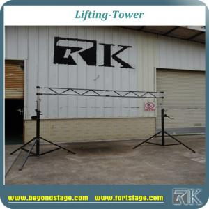 China 2 crank stands truss lighting stand with flat truss hanging lighting with high quality crank stands on sale