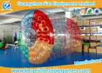 PVC Inflatable Water Roller Ball Inflatable Hamster Wheel For Water Pool