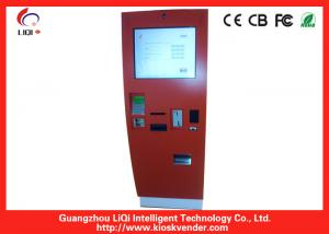 China Digital Bank ATM Kiosk Stand Anti-vandal Information For Payment on sale