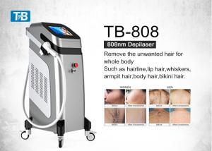 China White Black Hair Removal Diode Laser 1064nm 755nm 808nm Machine For All Skin Type on sale