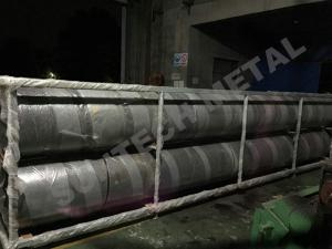 China Explosive Welding Nickle Alloy Bimetallic Clad Pipe For Chemical Process Equipment on sale