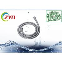 304 Stainless Steel Double locker Flexible  Handheld Bathroom Shower Hose 1.5m Longth Chrome Plated