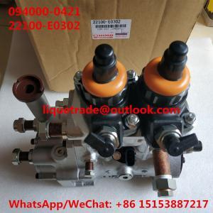 China DENSO HP0 Common rail fuel pump 094000-0420, 094000-0421 for HINO E13C 22100-E0300, 22100-E0301, 22100-E0302 on sale