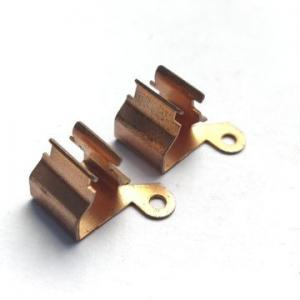 China Beryllium Copper Precision Sheet Metal Fabrication For Electrical Equipment on sale