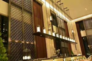 Interior hanging room divider screen 304 stainless steel curtain