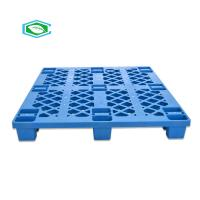 China OEM ODM Reusable Plastic Pallets , Scrap Plastic Pallets 18 Legs Four Way Entry on sale