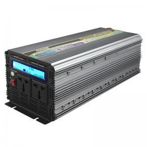 China 2015 new LCD display Microtek Inverter Price , Off Grid 4000W Power Inverter DC to AC on sale