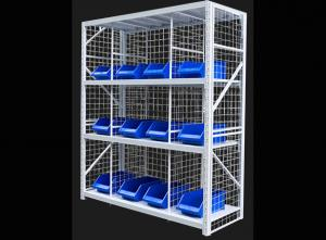 China Anti Corrosion Warehouse Storage Shelves Steel Racks For Warehouse Stackable Design on sale
