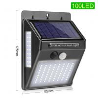 China Outdoor Solar Motion Sensor Light Energy Saving For Garden Decoration on sale