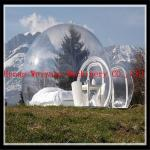 5M customized PVC giant inflatable snow globe, christmas inflatable snow globe bubble tent