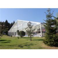 China Transparent  Aluminum Customized Canopy Tent 10m * 15m With Clear Top /  Side on sale