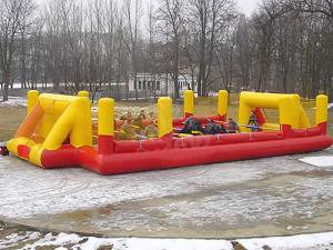 China sports games Inflatable Soccer Field  on sale