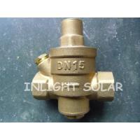 Brass Type Pressure Relief  Valve / Pressure Reducing Valve For Solar Water Heaters