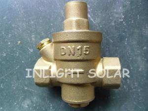 China Brass Type Pressure Relief  Valve / Pressure Reducing Valve For Solar Water Heaters on sale